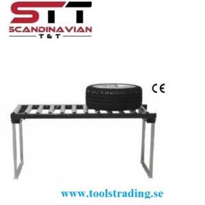 Rullbord Manuellt bildäcks  1258 x 660 x 700 mm