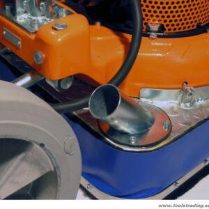 Golvvårdsmaskin 550-BK-400V med 7HP med variabel hastighet