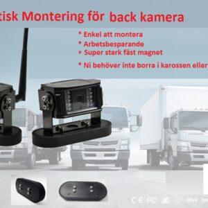 Lastbils kamera trådlös # BR-105656