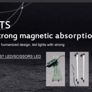 Belysning för billyftar LED