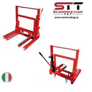Hjullyft för tunga fordon , dolly vagn  # APC-1600