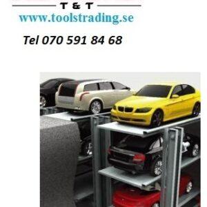 Parkeringssystem Grop design för 2 bilar ( 1 + 1 ) #STM-PJS-2
