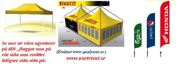 Tält och Flaggor på ny webb site
