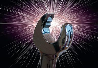 Blockspärrnyckelsats i U-gaffel och ring  8-21mm