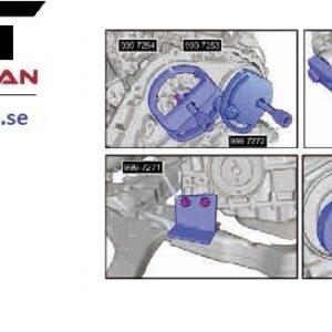 Kamaxel & motor inställningverktygs Volvo #   CH-6361-0007V