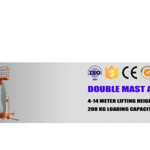 Dubbel Aluminium Mast Lyft  # INB-AL0.2-6