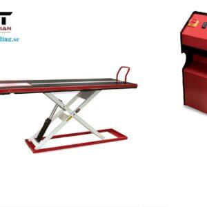MC Lyftbord Nano 500 Track kapacitet 500 kg # LV8-EN500TEF