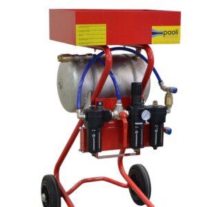 Vagn för tryckluft & hydraul muttermaskiner # DEP-181-C.02.0032
