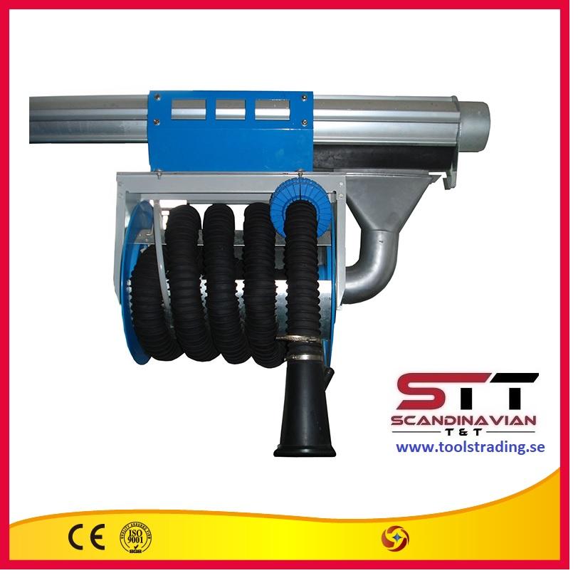 Avgasslangvinda  # SINO-79550 - 75 mm x 7 m
