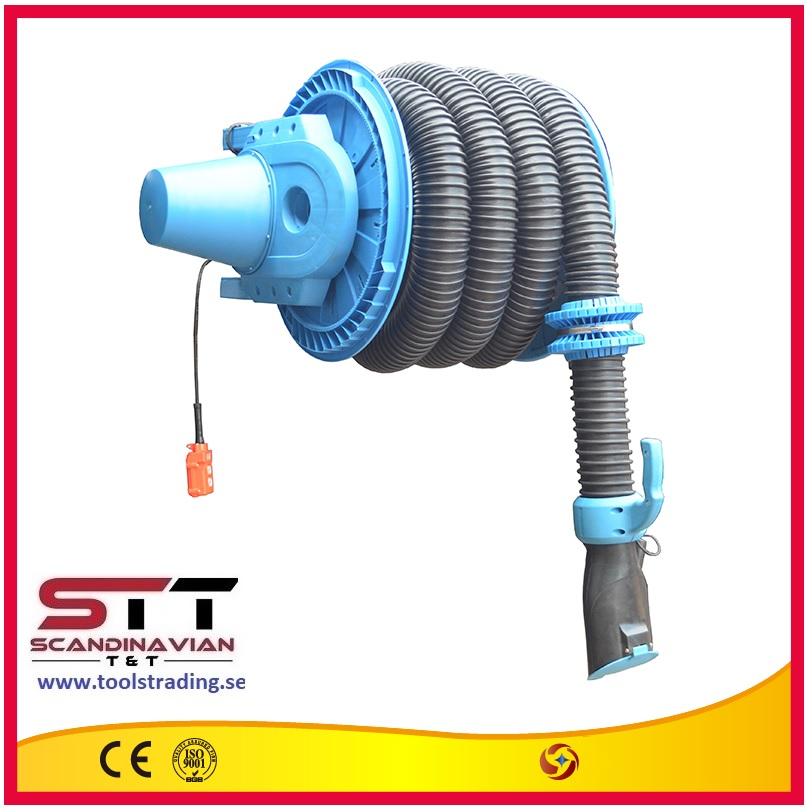 Avgasslangvinda  # SINO-80550 - 75 mm x 10 m