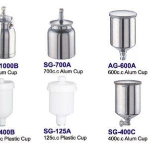 Färgkoppar i aluminium och plast #78-SG-100A-1