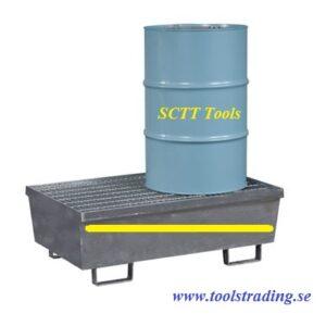 Säkerhetstank för 2 st  fat 180 -220 Lit # MEC-WOR-FCT2