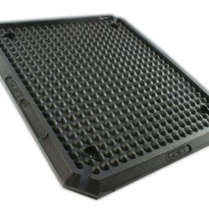Billyft gummi pad  400x350x16 mm, IME Lyft bla # 2789-77
