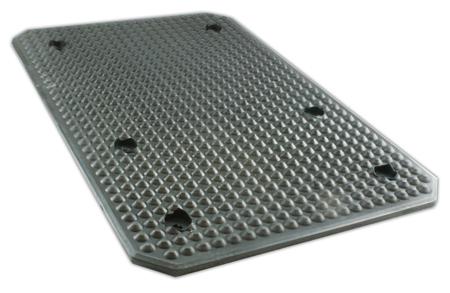 Billyft gummi pad 535 x 350 x 12 mm, Slift & IMER Lyft bla #2789-79