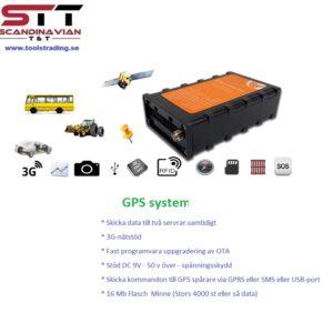 TPMS GPS spårning lösning  #TOT-AT07-2G