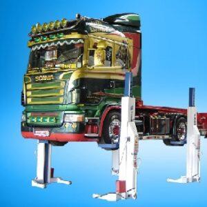 Elektrohydraulisk kolonnuppsättning 8,2 ton  4.6 eller 8 lyfts pelare #  NDL-HDL-8200L