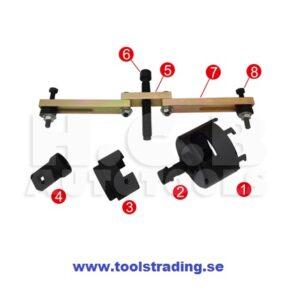 Kopplings DSG  installation och borttagningsverktyg
