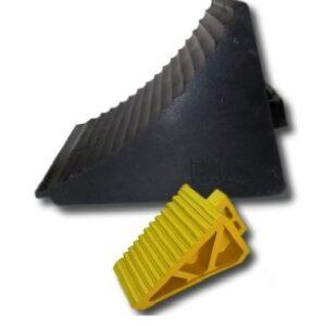 Hjulstopp 200 x 100 x 150 mm Svart 1,9 kg # SF-S-1521-BL