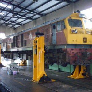 Lyftbockar för Järnvägs och spårvagn 8-25 Ton  # IME-NDL-12366