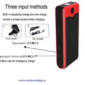 Laddkabel set, Dubbelt skydd till batteriet-Olika längder
