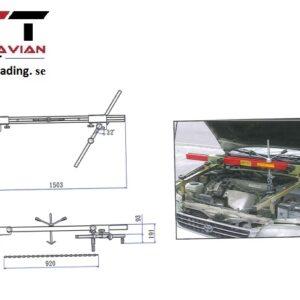 Universal justerbart motorstöd   # JAC-ES416
