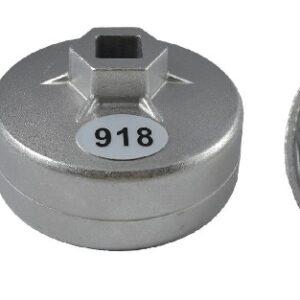 Oljefilterverktyg   74 mm x 15 inner kanter Audi, Rover, Chrysler #  JBM-11379