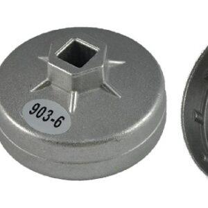 Oljefilterverktyg  74 mm x 15 inner kanter Rover, Chrysler, Audi  JBM-11382