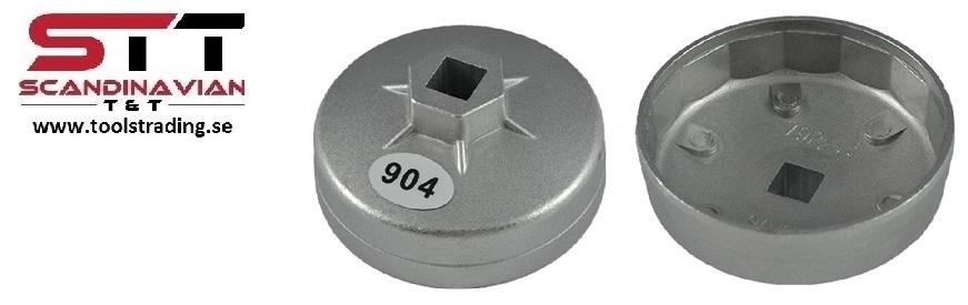Oljefilterverktyg  79 mm x 15 inner kanter Nissan, Ford JBM-11383