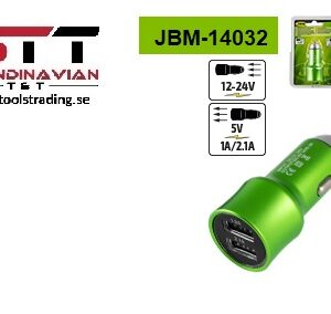 USB cigarettändare adapter för LED hand lampa  # JBM-14032