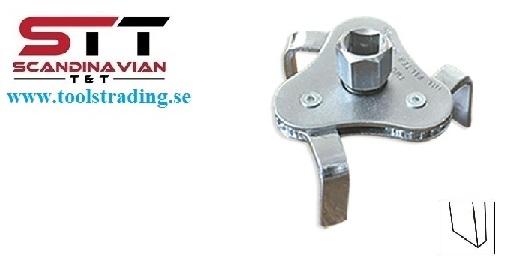 Oljefilter och bränsle verktyg klo 57 - 125 mm  #JBM-51352