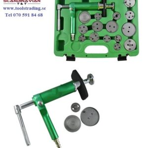 Broms caliper återställnings tryckluftverktyg sats 43 delar # JBM-52636