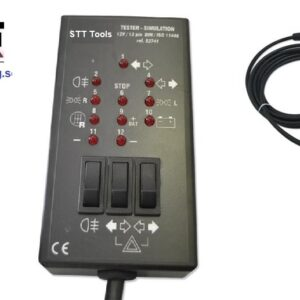 Släpvagns kontakter tester  13 polig   #JBM-52741