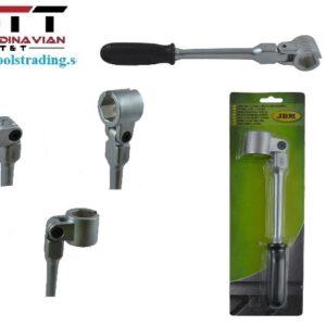 Lambda hylsnyckel rakt skaft 22 mm för Oxygen sensor # JBM-52822