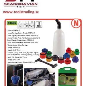 Oljepåfyllnings kit för motor olja 15 dels kit # JBM-53485