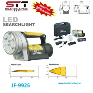 Ledhandlampa 10W LED x 4 st (CREE LED)