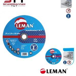 Kapskiva LEMAN  75 x 1,0 x 10 mm # LEM-1108761