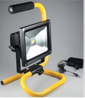 Laddningsbara bärbara 1 LED 20W Arbetsbelysning