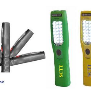 Handlampa 21 + 5 Batteri LED arbetsbelysning #SER-45000