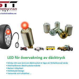 TPMS LED för övervakning av däcktryck # TOT-TP03-C