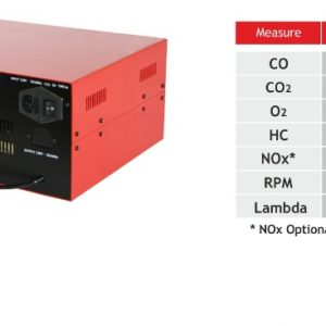 Infraröd gasanalysator med PC