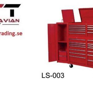 Verktygsvagn med 19 lådor   # LAN-LS-003