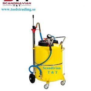 Oljesug 120 Lit pneumatisk tömning #MEC-040-1428-000