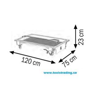 Spilloljeuppsamlare 120 lit för fat och andra vätskor #MEC-047-1459-G00
