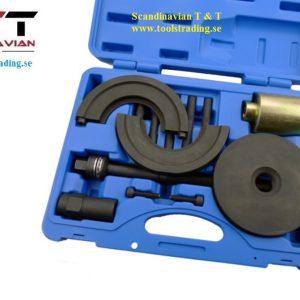 Hjulnav & Hjullagerverktygsats 90 mm Audi # KAU-PC-9005-90