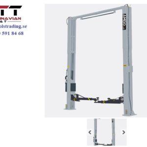 Billyft 2-pelare bredare fundaments fri 5,5 ton #  PEK-A255C