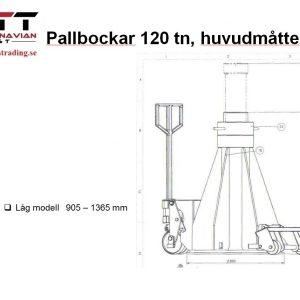 Pallbock 120 Ton # ND-120L