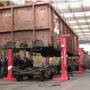 Lyftbockar Mobila Kombinerat för spårvagnar # IME-3000-LKW