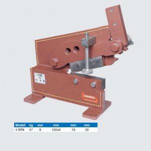 Plåtsax bänk   5 mm  art nr 798-3BR/5-500