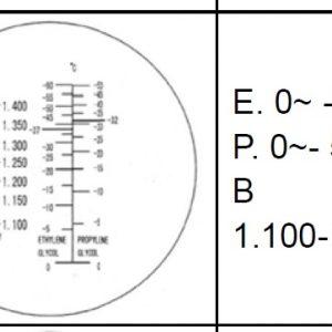 Automotive Plastic Refraktometer Utan ATC # Art nr 67- 402A