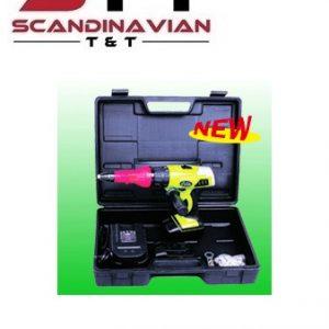 Popnitpistol batteridriven 14,4V för 3,2 - 6,40 mm p-nit # WP-CRR-64